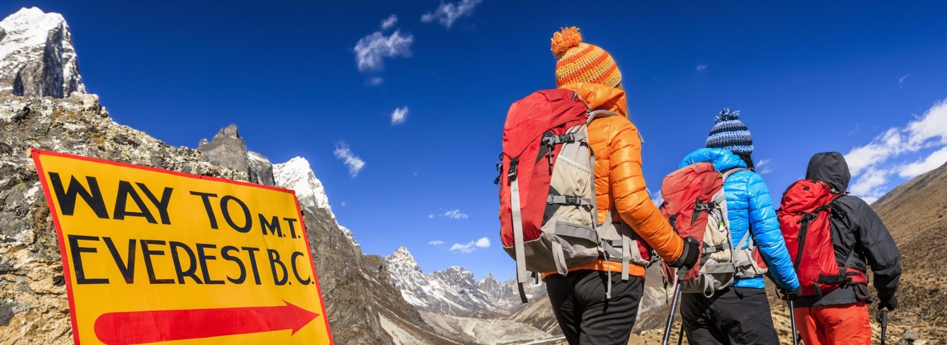 Everest charity trek
